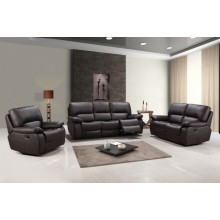 9389 - Brown Sofa Set