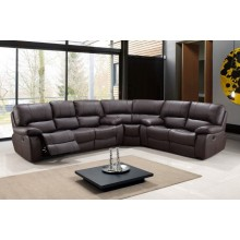 9389 - Brown Sectional