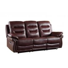 9392 - Burgundy Sofa