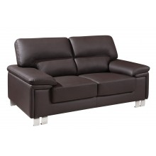 9399 - Brown Loveseat