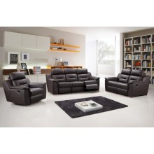 9408 - Brown Sofa Set