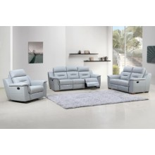 9408 - Gray Sofa Set
