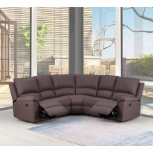 9241 - Brown Sectional