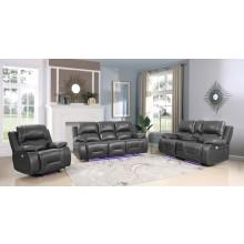 9422 - Gray Power Reclining Sofa Set