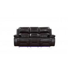 9422 - Brown Sofa