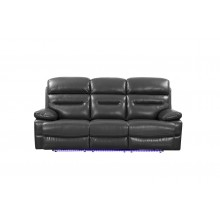9442 - Gray Power Reclining Sofa