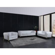 970 - White Sofa Set