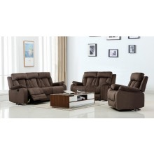 9760 - Brown Sofa Set