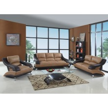 982 - Two-Tone Sofa Set