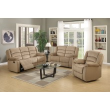 9824 - Beige Sofa Set