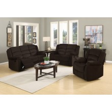 9824 - Brown Sofa Set