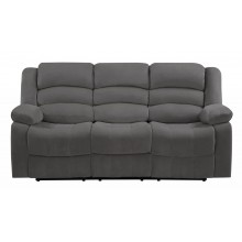 9824 - Gray Sofa