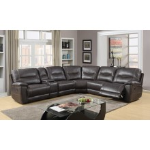 9917 - Dark Brown Sectional
