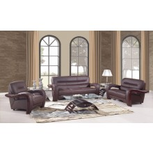 992 - Brown Sofa Set
