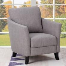 A12 - Light Gray Accent Chair