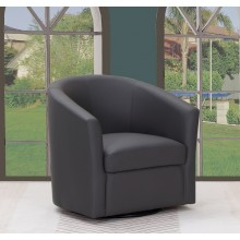 A25 - Dark Gray Accent Chair