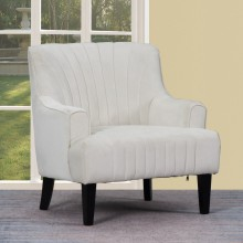 A32 - White Accent Chair