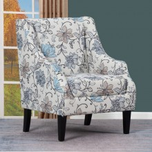A37 - Light Gray Accent Chair