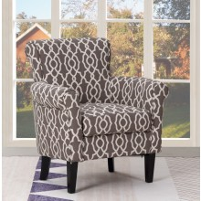 A4 - Brown Accent Chair