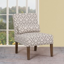 A81 - Beige Accent Chair