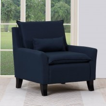 A87 - Navy Accent Chair