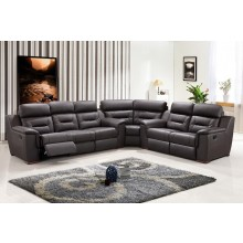 9408 - Brown Sectional