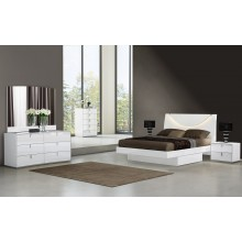Bellagio - White 4PC Bedroom Set