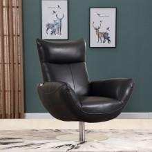 C74 - Black Lounge Chair