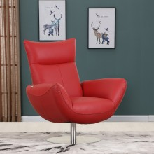 C74 - Red Lounge Chair