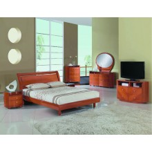 Cosmo - Cherry 4PC Bedroom Set