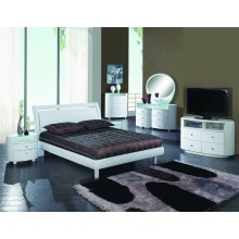 Cosmo - White 4PC Bedroom Set