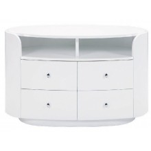 Cosmo - White TV Entertainment Unit