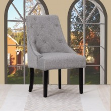 D9 - Light Gray Accent Chair