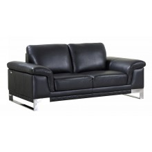 411 - Black Loveseat