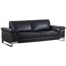 411 - Black Sofa