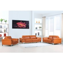 411 - Camel Sofa Set