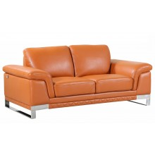 411 - Camel Loveseat