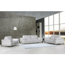 411 - Light Gray Sofa Set
