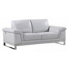 411 - Light Gray Loveseat