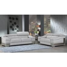 415 - Light Gray Sofa Love