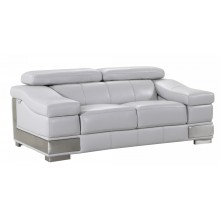 415 - Light Gray Loveseat