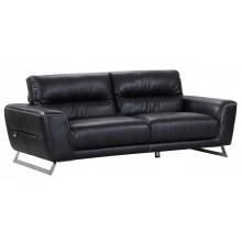 485 - Black Sofa