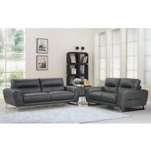 485 - Dark Gray Sofa Love