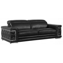 692 - Black Sofa