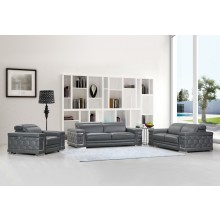 692 - Dark Gray Sofa Set