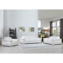 692 - White Sofa Set