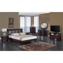 Encore - Wenge 4PC Bedroom Set