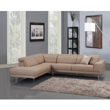 632 - Beige LAF Sectional