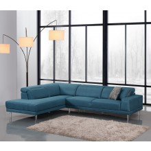632 - Blue LAF Sectional