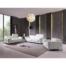 903 - White Sofa Set